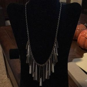 Silpada brass collection Fringe Benefits necklace